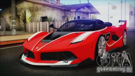 Ferrari FXX K 2016 v1.1 [HQ] для GTA San Andreas