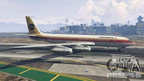 Boeing 707-300 для GTA 5 второй скриншот