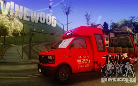 TMZ Tourbus для GTA San Andreas вид слева