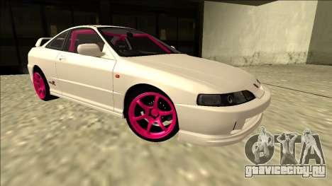 Honda Integra Drift для GTA San Andreas вид справа