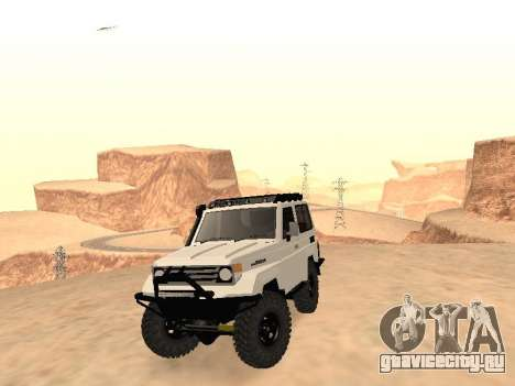 Toyota Machito Off-Road (IVF) 2009 для GTA San Andreas вид сзади