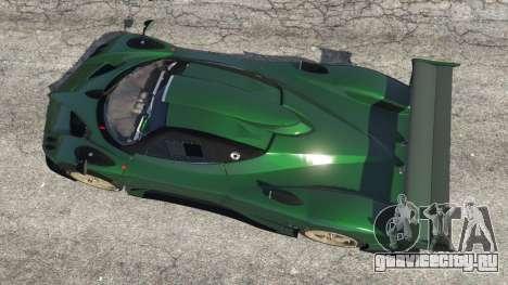 Pagani Zonda R v0.91 для GTA 5 вид сзади