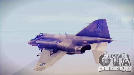 McDonnell Douglas F-4N Hellenic Air Force для GTA San Andreas вид слева