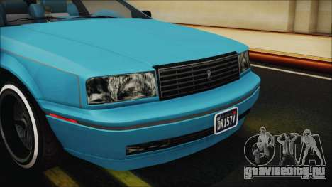 GTA 5 Albany Primo Custom Bobble Version IVF для GTA San Andreas вид сбоку