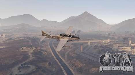 Embraer A-29B Super Tucano House для GTA 5 шестой скриншот
