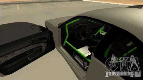 Nissan Silvia S14 Drift Monster Energy для GTA San Andreas вид изнутри