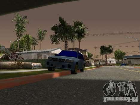 Subaru Forester 1998 для GTA San Andreas вид слева