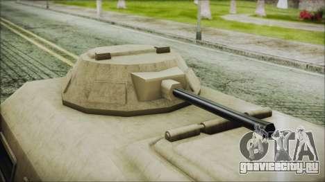 GTA 5 HVY Insurgent Van для GTA San Andreas вид справа