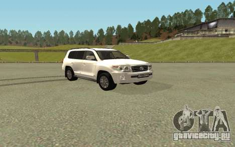 Toyota Land Cruiser 200 Bulkin Edition для GTA San Andreas