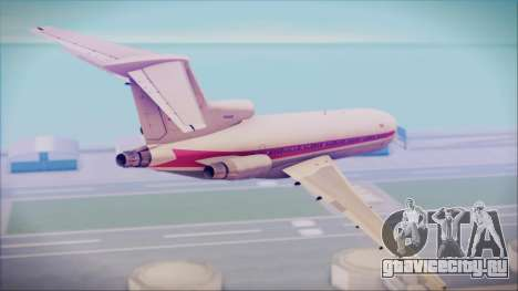 Boeing 727-200 Trans World Airlines для GTA San Andreas вид слева