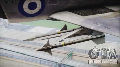 McDonnell Douglas F-4N Hellenic Air Force для GTA San Andreas вид справа
