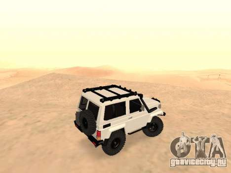 Toyota Machito Off-Road (IVF) 2009 для GTA San Andreas вид слева