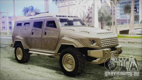 GTA 5 HVY Insurgent Van для GTA San Andreas