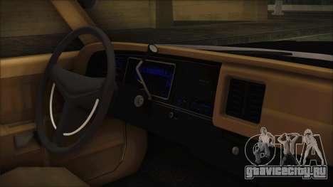 Dodge Monaco 1974 LVPD IVF для GTA San Andreas вид справа