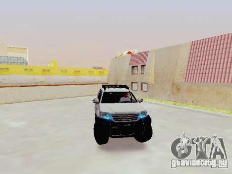 Toyota Fortuner 4WD 2015 Rustica V2 для GTA San Andreas
