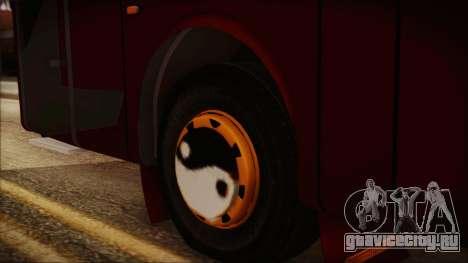 JetBus Marissa Holiday для GTA San Andreas вид сзади слева