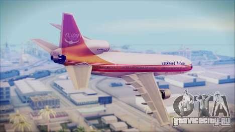 Lockheed L-1011 TriStar Prototype для GTA San Andreas вид слева