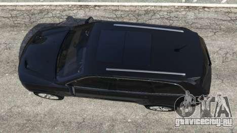 Jeep Grand Cherokee SRT8 2013 для GTA 5 вид сзади