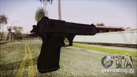 PayDay 2 Deagle для GTA San Andreas третий скриншот