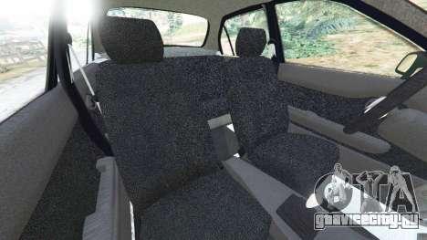 Toyota Corolla 1.6 XEI [black edition] v1.02 для GTA 5 вид справа