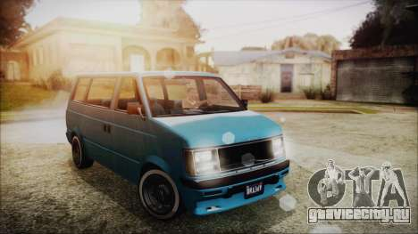 GTA 5 Declasse Moonbeam No Interior для GTA San Andreas