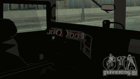 Hummer H1 Limo 6x6 для GTA San Andreas вид сзади слева