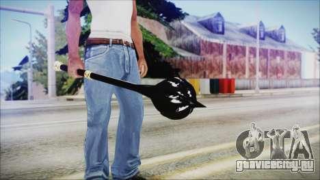 Bulat Steel Mace для GTA San Andreas третий скриншот