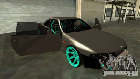 Nissan Skyline R33 Drift для GTA San Andreas вид снизу