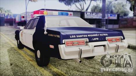 Dodge Monaco 1974 LSPD Highway Patrol Version для GTA San Andreas вид слева
