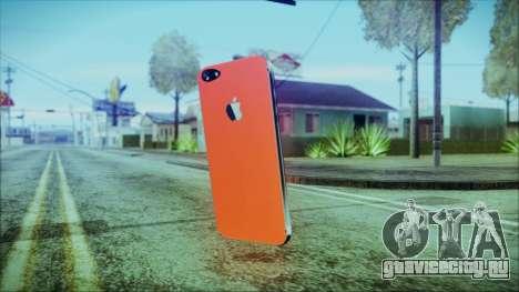 iPhone 5 Red для GTA San Andreas второй скриншот