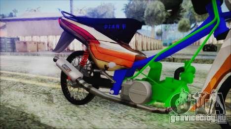 Supra X для GTA San Andreas вид справа