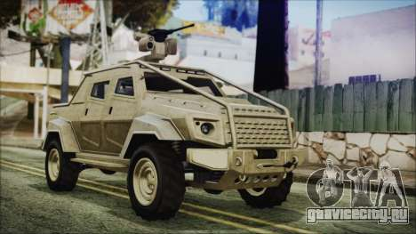 GTA 5 HVY Insurgent Pick-Up для GTA San Andreas