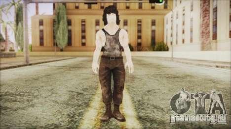 Rambo Shirt для GTA San Andreas второй скриншот