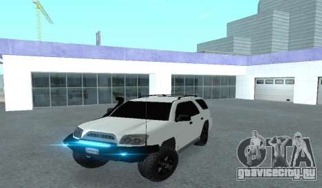 Toyota 4runner 2008 semi-off_road LED для GTA San Andreas