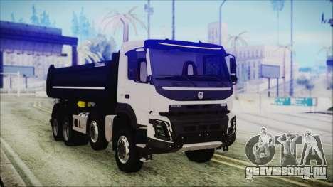 Volvo FMX Euro 6 для GTA San Andreas