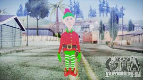 Christmas Elf v1 для GTA San Andreas второй скриншот