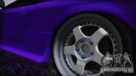 Nissan Silvia S14 Zenki BN Sports для GTA San Andreas вид сзади слева