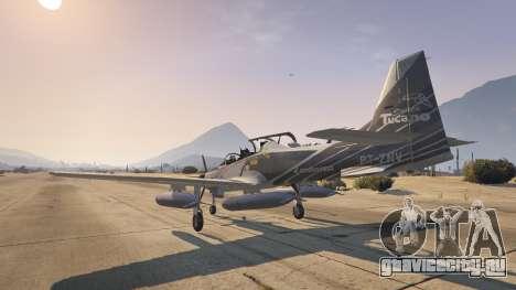 Embraer A-29B Super Tucano House для GTA 5 четвертый скриншот