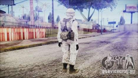 World In Conflict US Marine Winter для GTA San Andreas третий скриншот