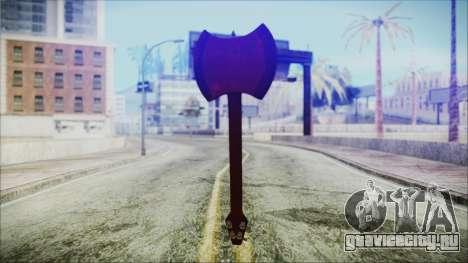 Ax Bass HD from Adventure Time для GTA San Andreas третий скриншот