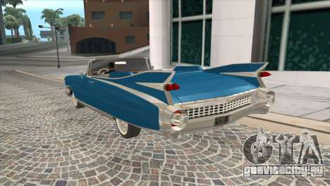 Cadillac Eldorado Biarritz 1959 для GTA San Andreas вид слева