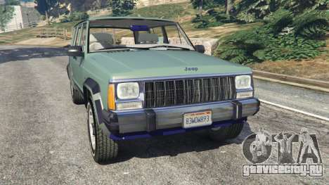 Jeep Cherokee XJ 1984 [Beta] для GTA 5