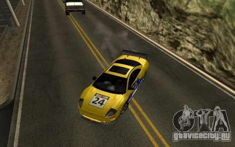 Mitsubishi Eclipse GTS Tunable для GTA San Andreas вид сбоку
