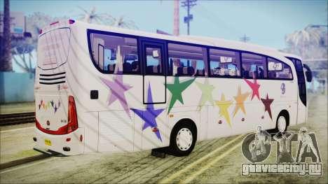 Starbus 34XM для GTA San Andreas вид слева