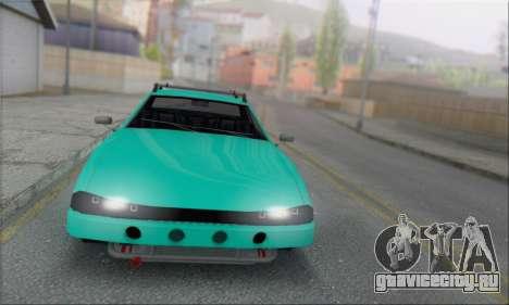 Elegy Min.Korch для GTA San Andreas вид сзади слева