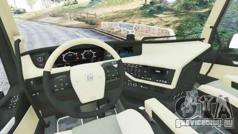 Volvo FH 750 2014 для GTA 5 вид сзади справа