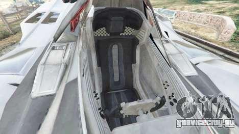 Batmobile Mk2 v0.9 для GTA 5 вид справа