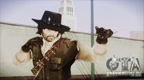 John Marston from Red Dead Redemtion для GTA San Andreas