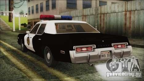 Dodge Monaco 1974 LVPD для GTA San Andreas вид слева