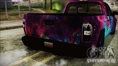 GMC Sierra Galaxy для GTA San Andreas вид сзади